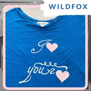 🐰 NWOT WILDFOX Love Your Love Effortless Tee